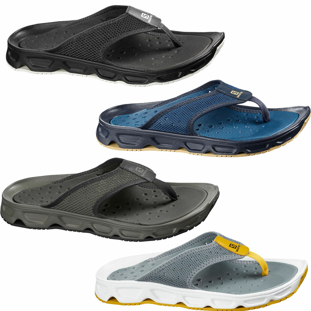 salomon rx break herren outdoor sandale flip zehentrenner flops schlappen schuhe ebay. Black Bedroom Furniture Sets. Home Design Ideas