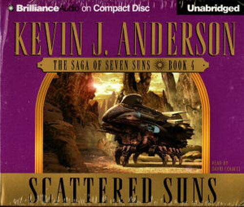 Audio Book Scattered Suns By Kevin J Anderson Cd Ebay