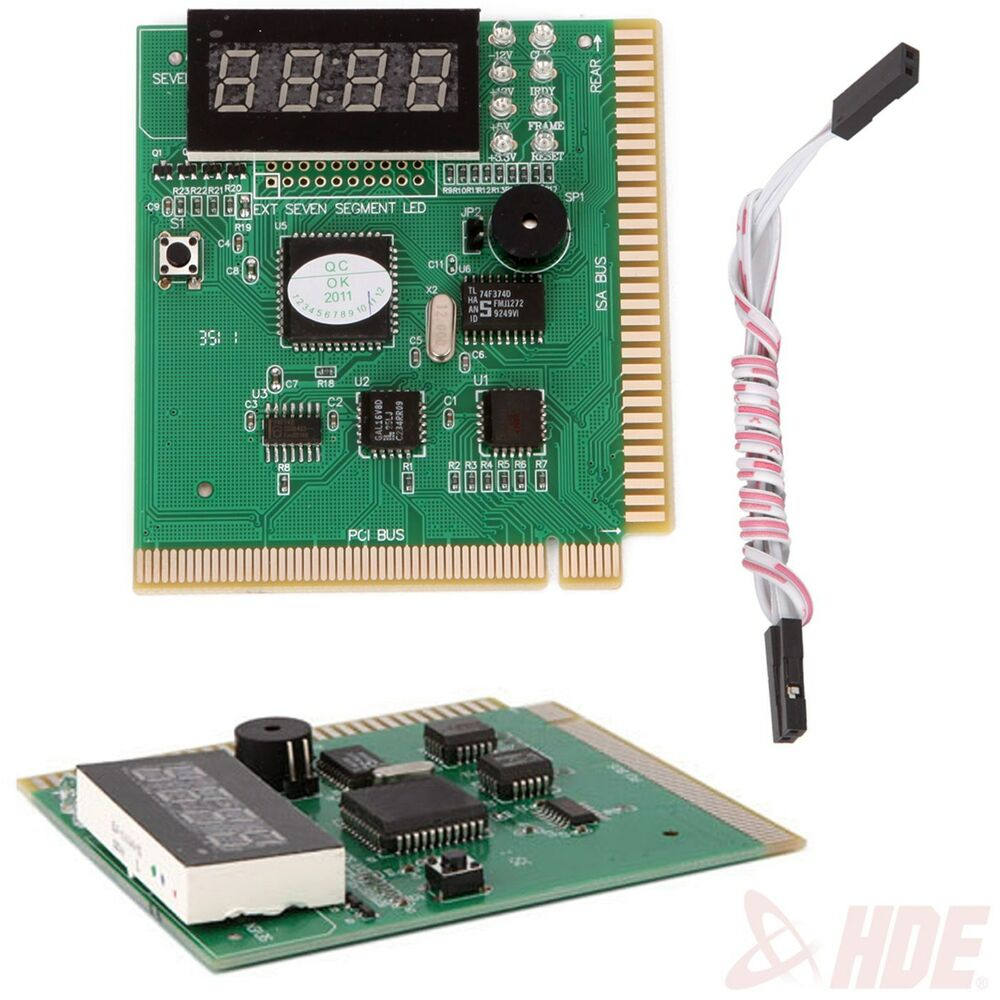 4-Digit Card PC Analyzer Diagnostic Motherboard POST