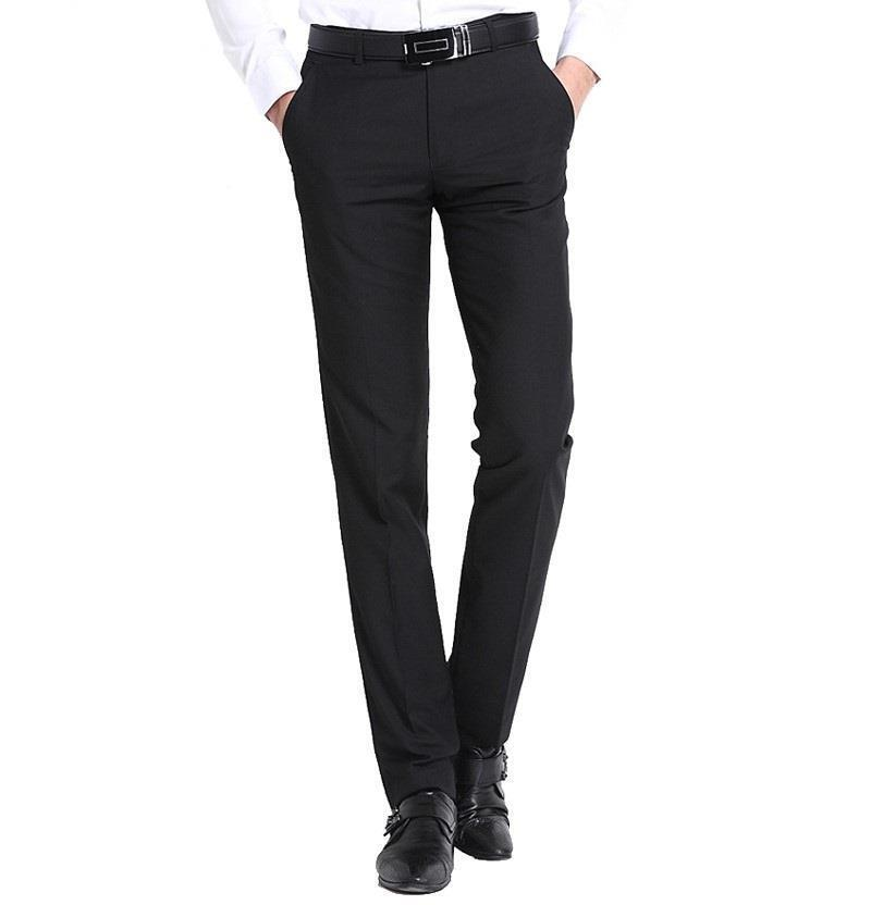 Mens Slim Fit Dress Pants | eBay