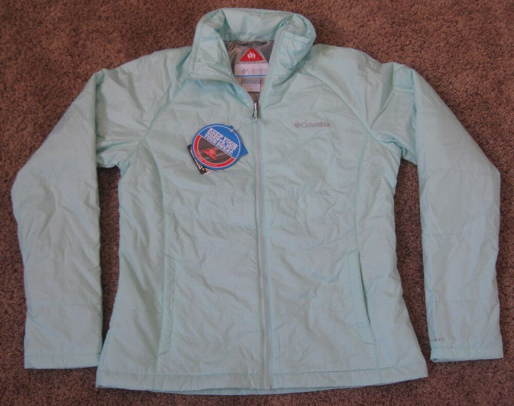Womens M Medium Columbia Nordic Point Liner Omni Heat