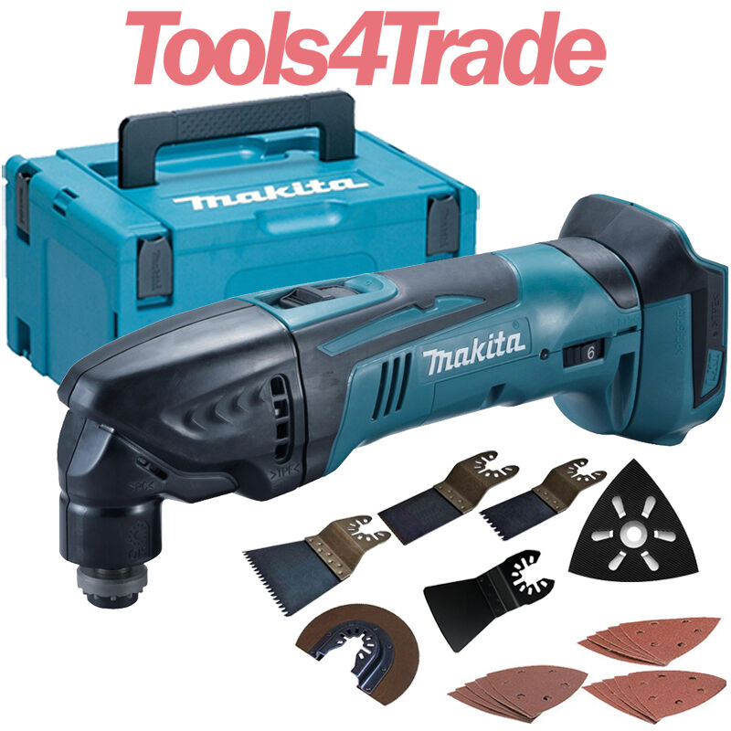 makita dtm50z 18v lxt li ion cordless multi tool makpac. Black Bedroom Furniture Sets. Home Design Ideas