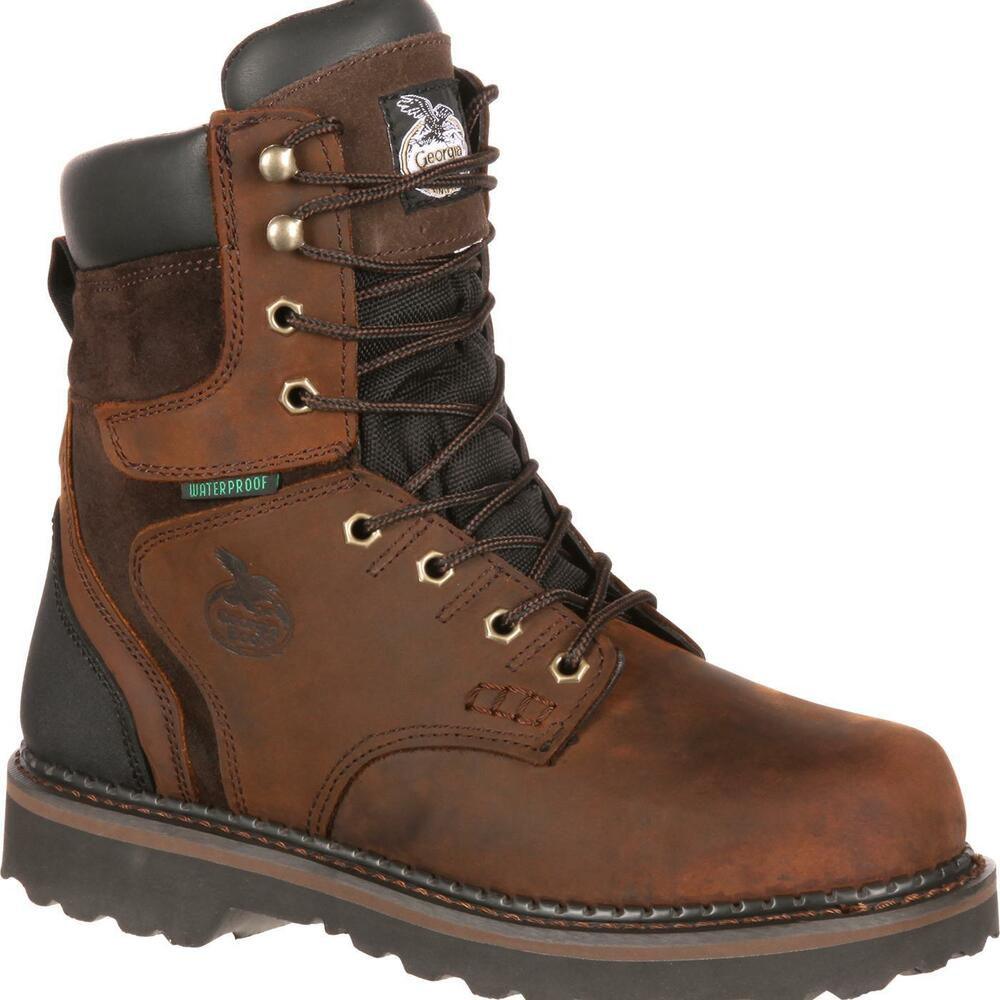 You don't have to sacrifice style for the sake of safety. DICK'S Sporting Goods carries an exceptional variety of men's work boot options, such as western-style boots, hiking-style boots, tactical boots, Wellington boots and other popular designs, all featuring top-quality materials and comfortable, supportive soles.