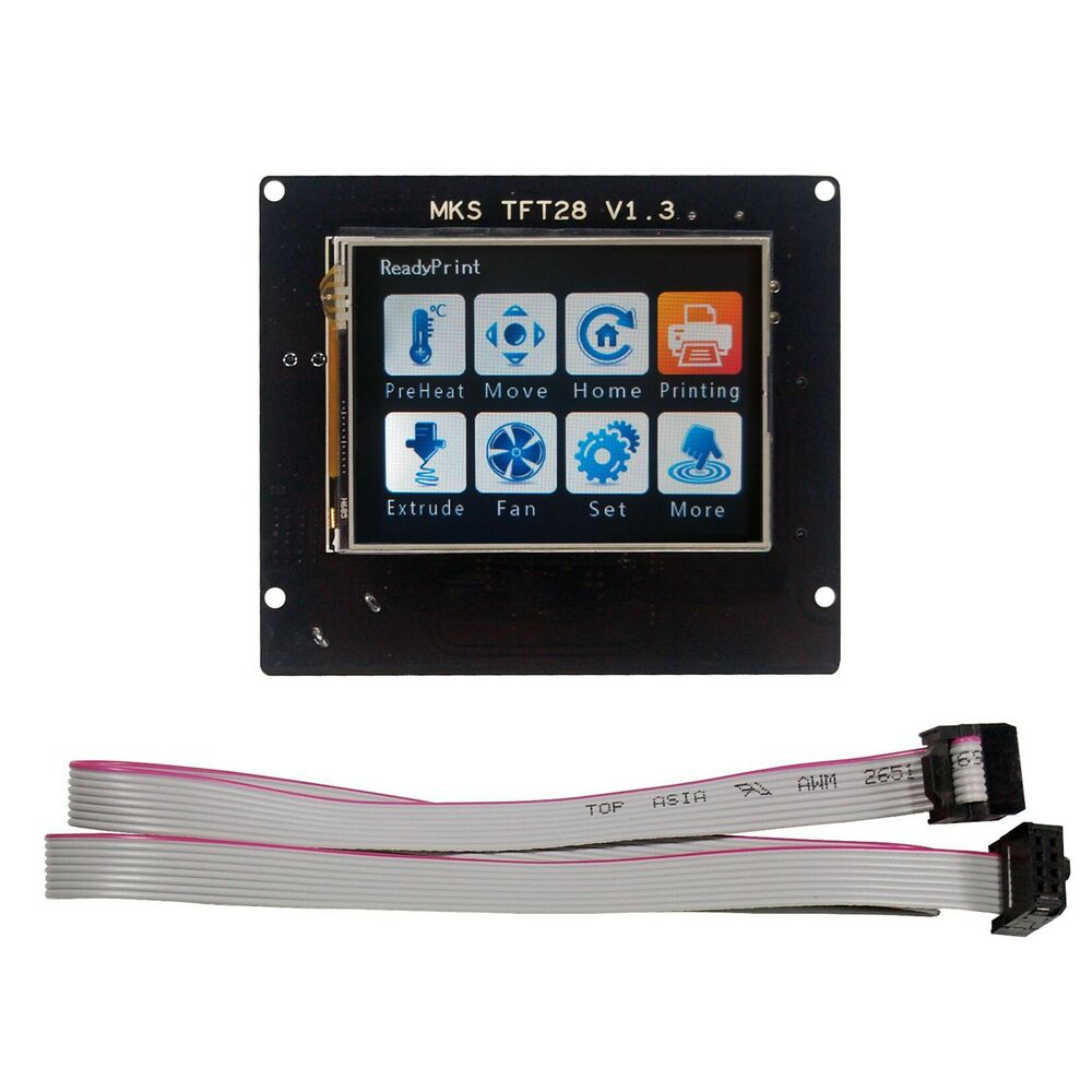 2.8''TouchScreen for 3D Printer LCD Display MKS TFT28 V1.3 ...