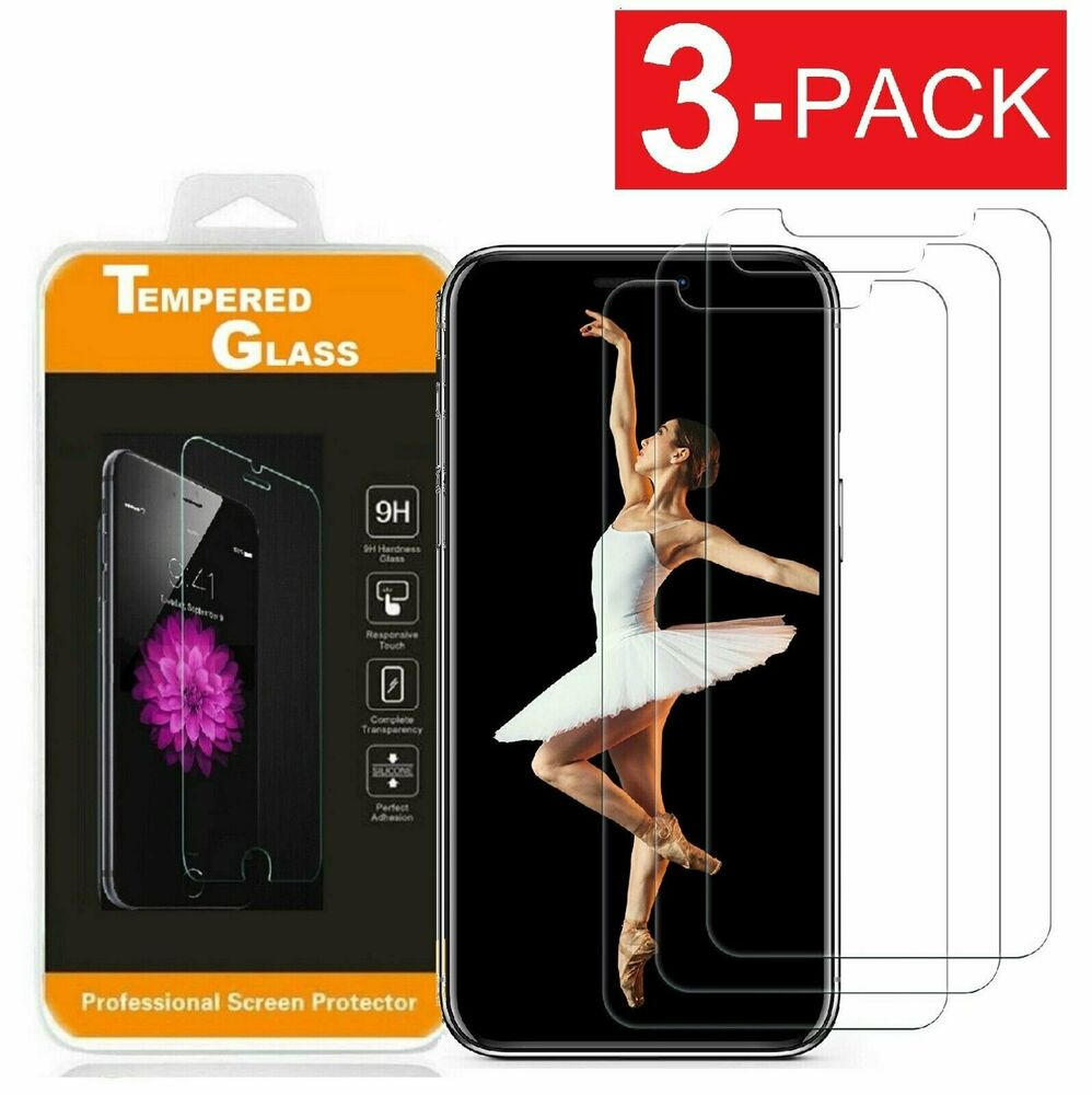 premium real screen protector tempered glass film for iphone 6 6s 7 plus ebay. Black Bedroom Furniture Sets. Home Design Ideas