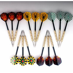 Kyпить 15 pcs(5 sets) of Steel Tip Darts Slim Barrel With Nice Dart Flights US Shipping на еВаy.соm