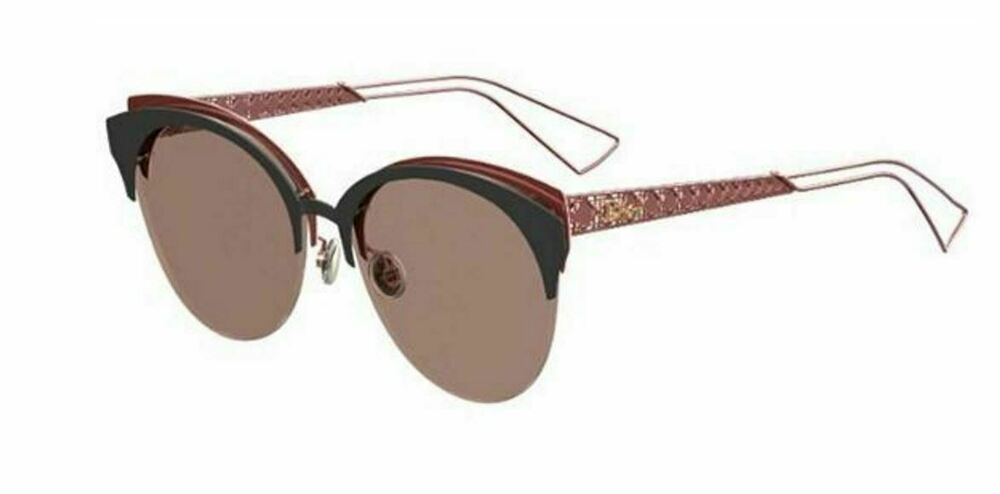Details about New Christian Dior Diorama Club EYM AP Matte Black Red Grey  Rose Gold Sunglasses 921614fd41