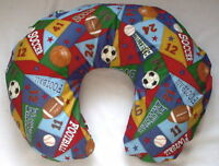 Handmade Sports Nursing Pillow Cover Fits Boppy