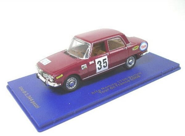 alfa romeo 1750 berlina no 35 tour de france 1968 ebay. Black Bedroom Furniture Sets. Home Design Ideas