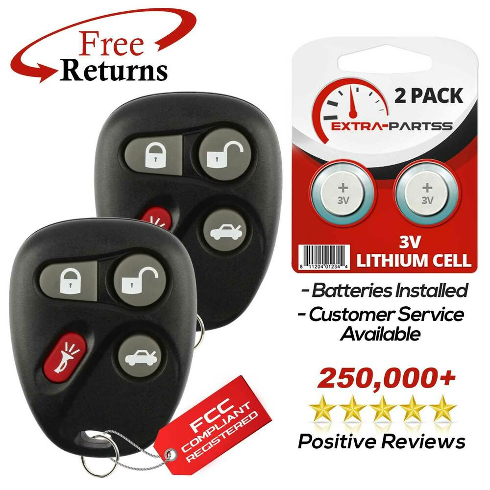 Mazda Key Battery Replacement >> 2 For 2001 2002 2003 2004 2005 Pontiac Grand Am Remote Keyless Entry Key Fob | eBay