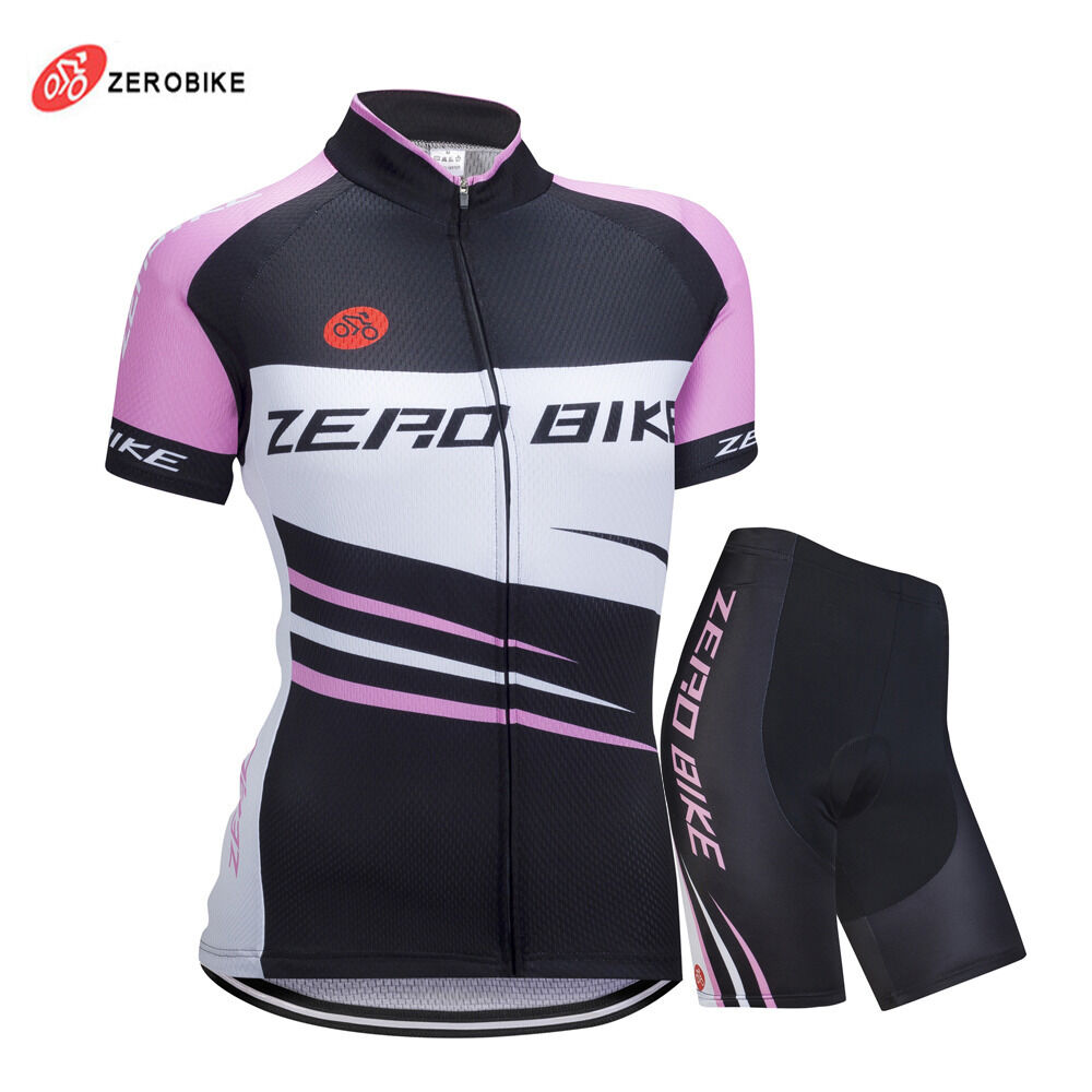 Cycling Bike Short Sleeve Clothing Set Bicycle Women Wear ...