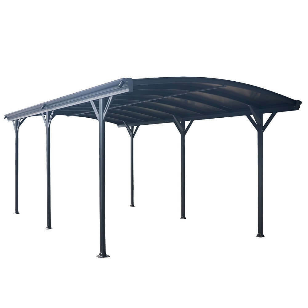 home deluxe carport berdachung abstellplatz aluminium garage alu pavillon ebay. Black Bedroom Furniture Sets. Home Design Ideas