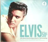 ELVIS IN THE 50s - 100 CLASSICS FROM THE KING OF ROCK 'N' ROLL - 4 CD BOX SET