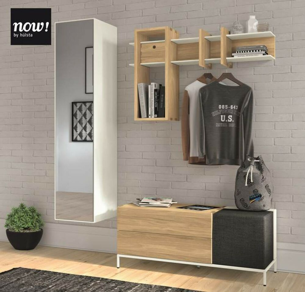 garderobe now by h lsta now spin eiche ahorn neu ebay. Black Bedroom Furniture Sets. Home Design Ideas