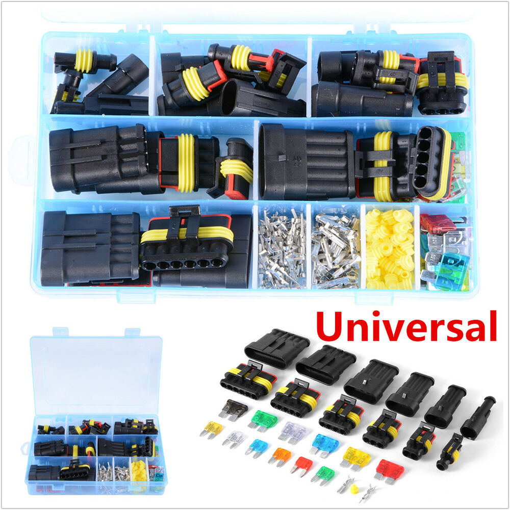 1 2 3 4 5 6 pin way car boat waterproof electrical ... automotive fuse box connectors