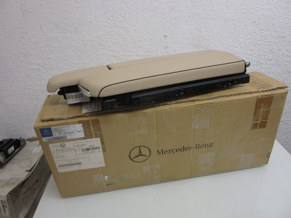 2013 2016 new genuine mercedes benz r231 sl550 sl63 center for Mercedes benz center console lid