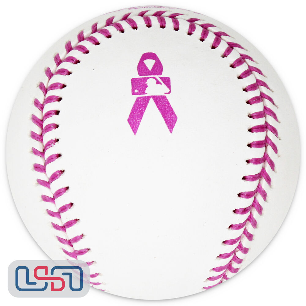 Rawlings Official Mothers Day Pink Major League Baseball Manfred Boxed Ebay