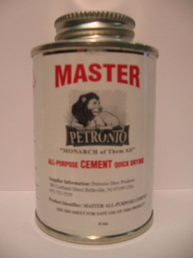 Master All Purpose Cement 4oz Brush In Can Shoe Repair