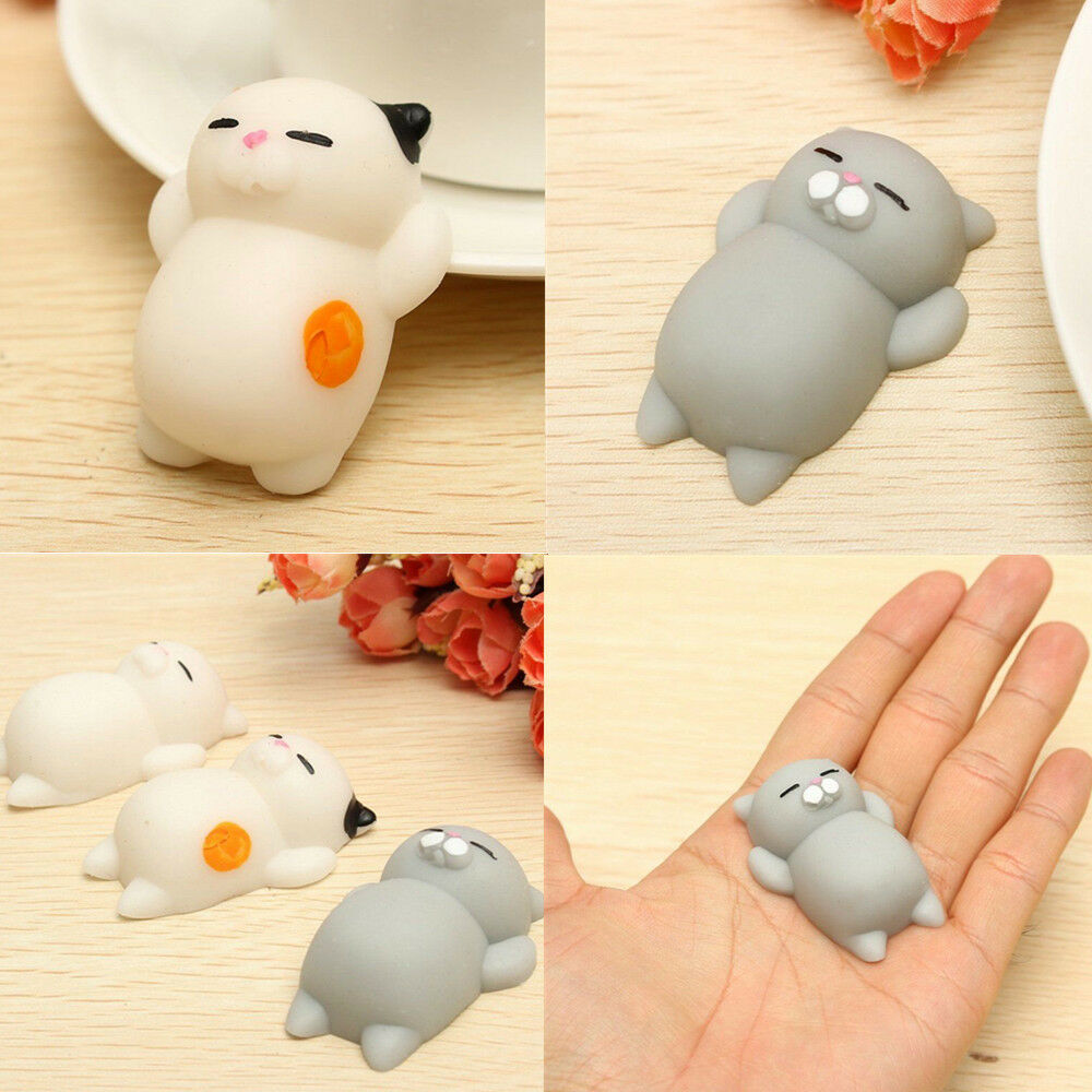 soft lovely cat squishy healing squeeze fun kid toy gift stress reliever decor