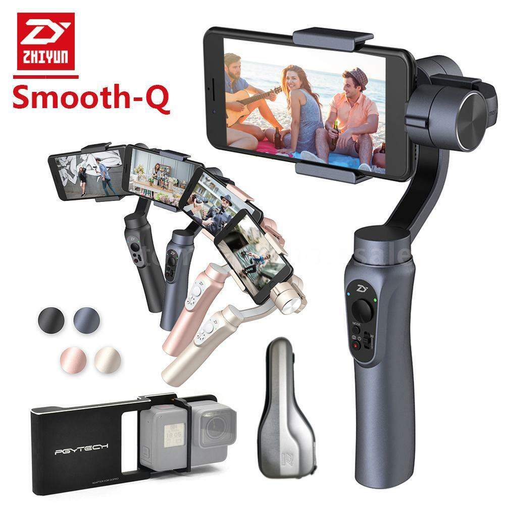 Zhiyun Smooth-Q 3-Axis Handheld Gimbal Stabilizer for ...