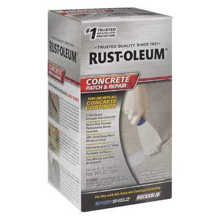 Rust Oleum 301012 Concrete Patch And Repair 24 Oz Box