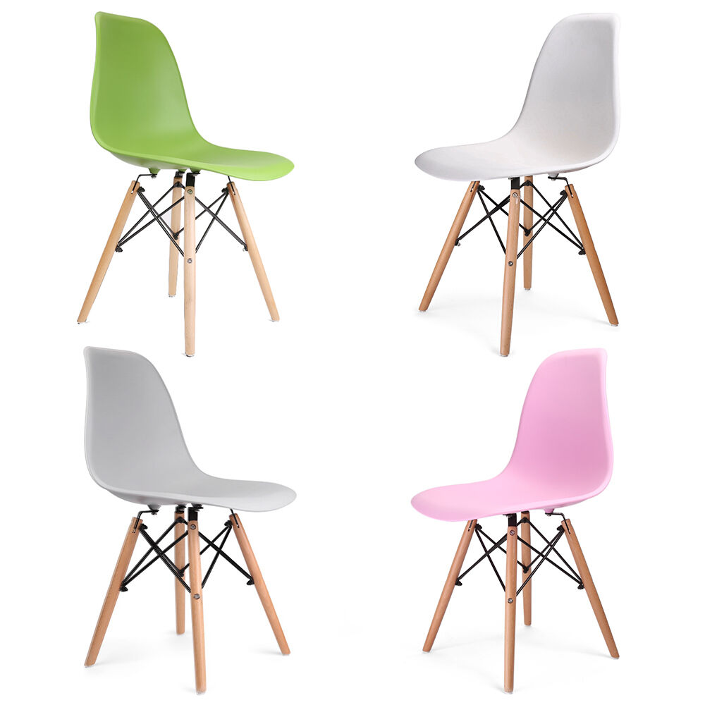 Wooden chair retro lounge dining room chairs office chair ebay - Retro dining room chairs ...