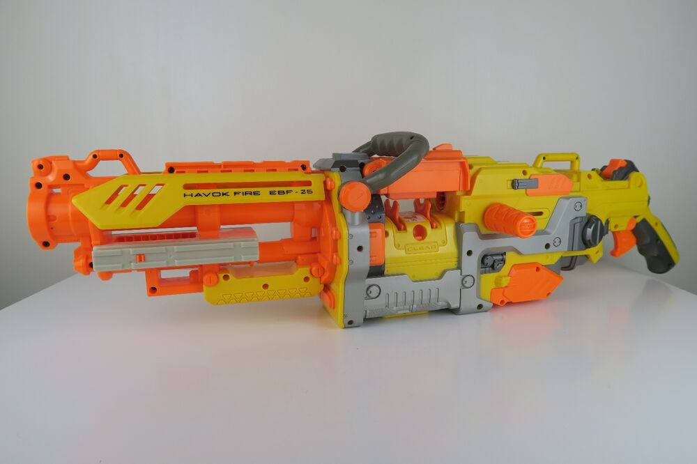 Nerf Havok Fire Vulcan...