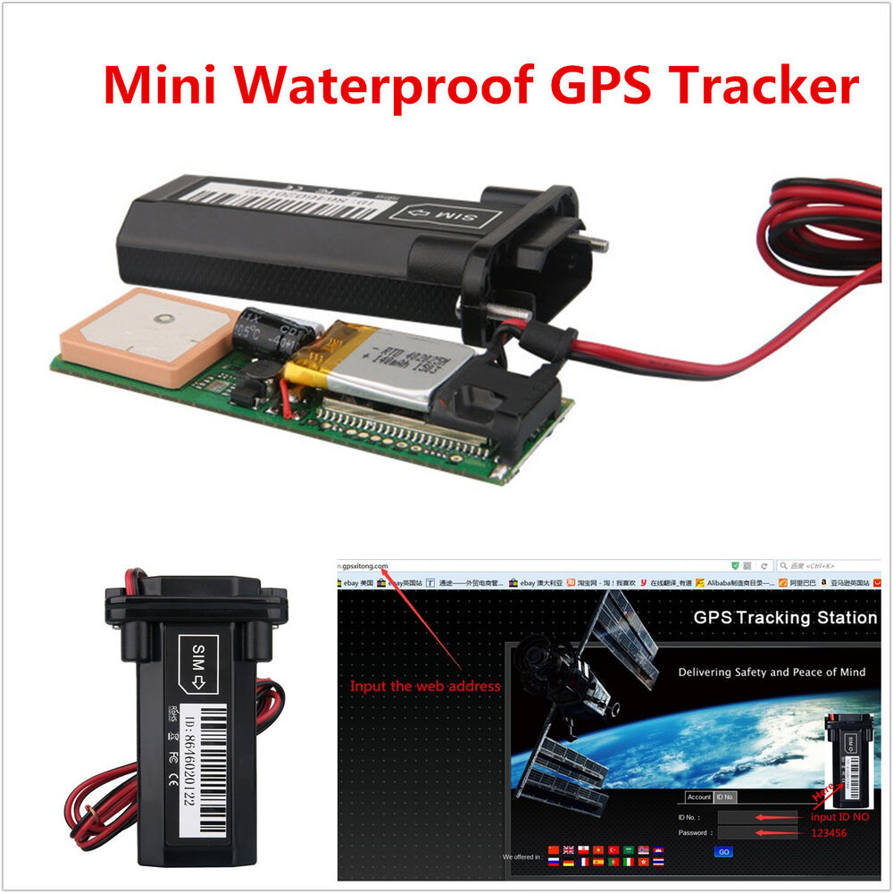 universal car mini builtin battery gsm gps tracker. Black Bedroom Furniture Sets. Home Design Ideas
