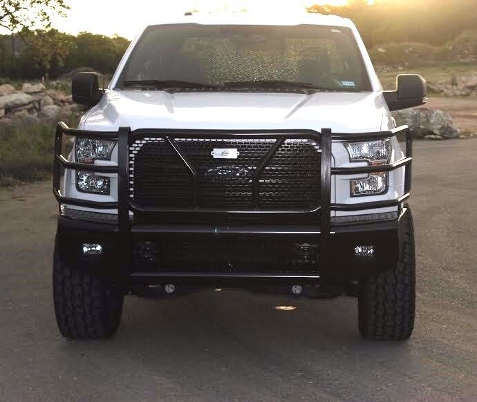 New Ranch Style Front Bumper 2015 2016 2017 Ford F150 Ebay