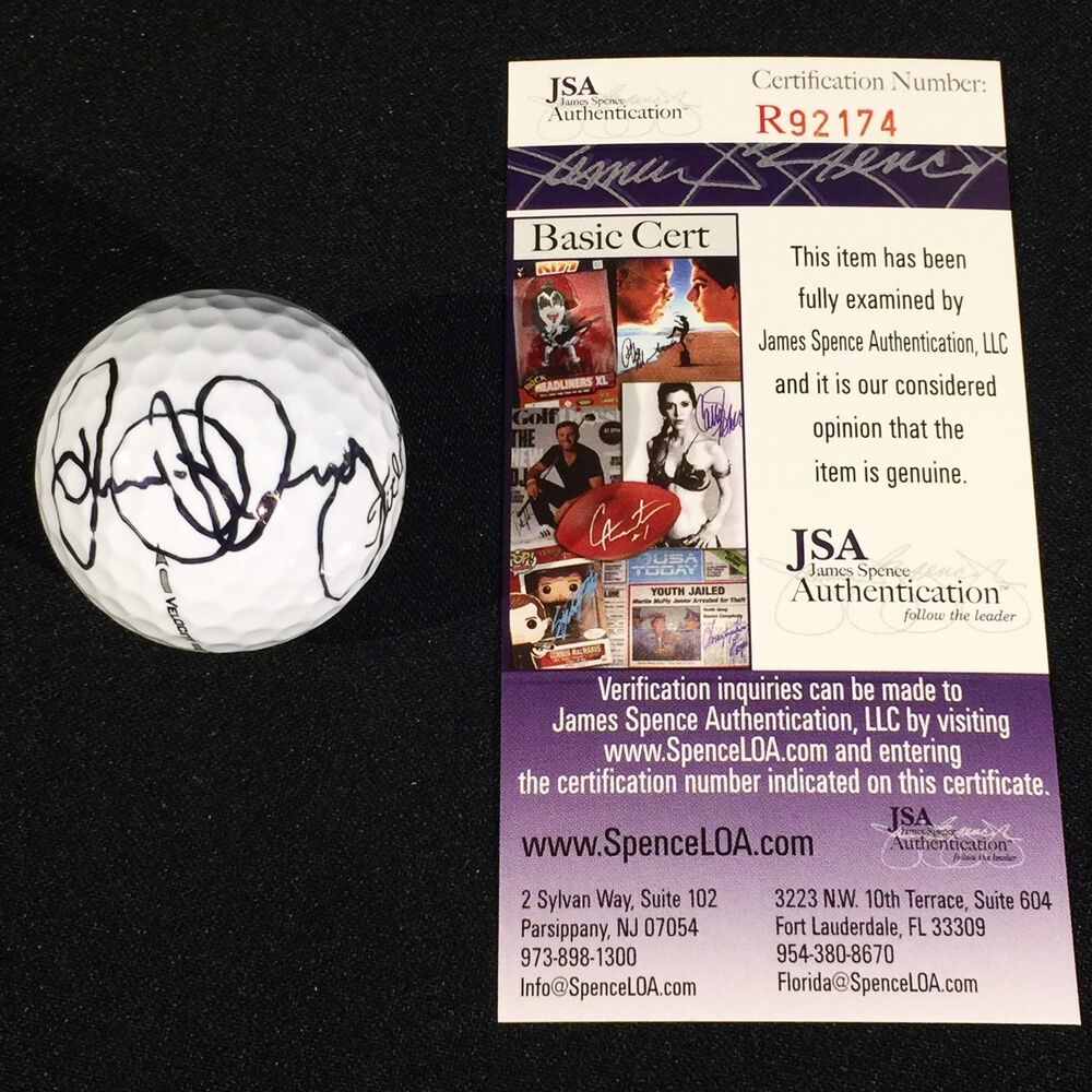 e9bb2434baa Details about Rory McIlroy Signed MASTERS Augusta National Golf Ball JSA  Authentic  R92174