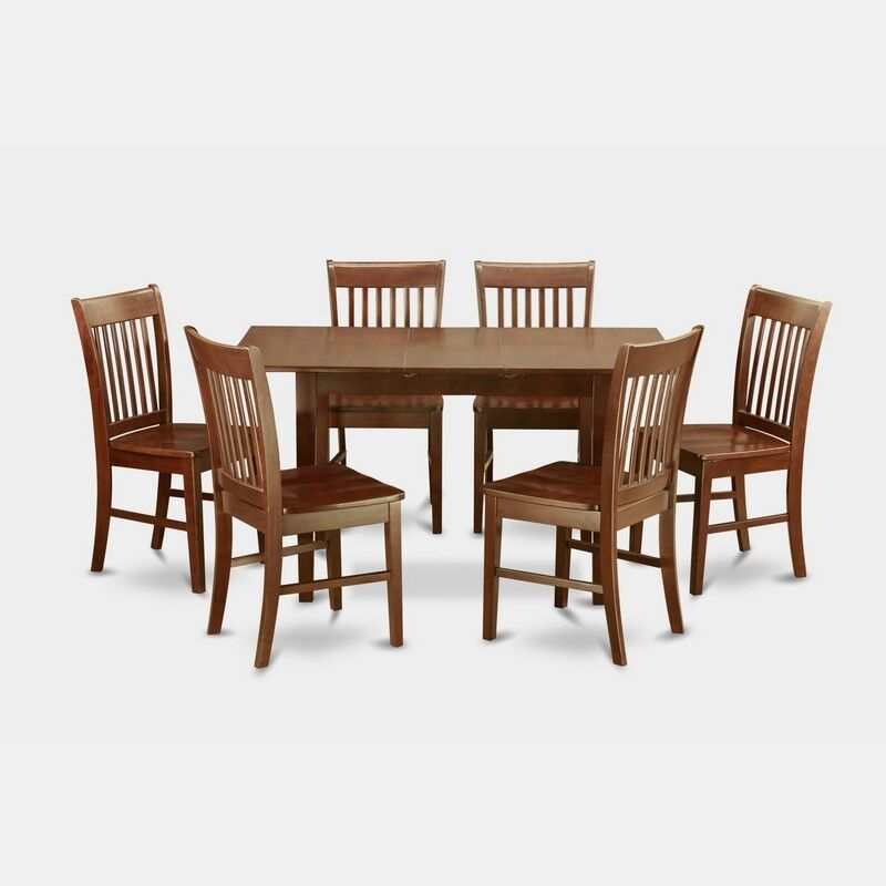 Small Dining Tables Sets: 7 Piece Small Kitchen Table Set