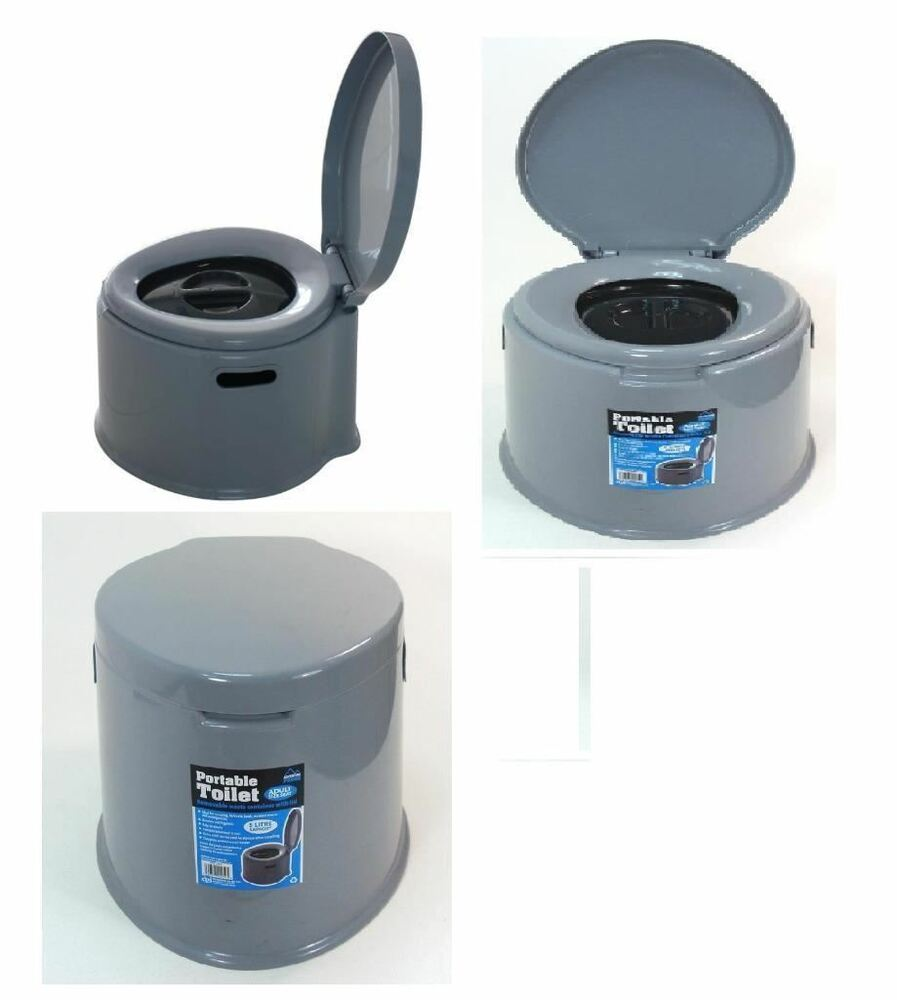 5l Portable Toilet Compact Potty Loo Camping Caravan