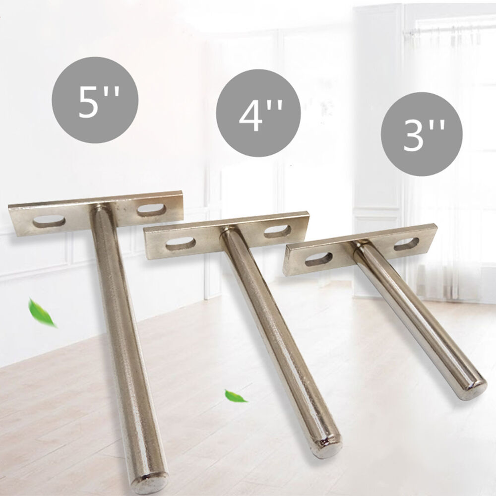10Pcs Concealed Floating Hidden Wall Shelf Support Metal