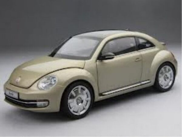 Details About Vw Beetle Coupe Moon Rock Silver