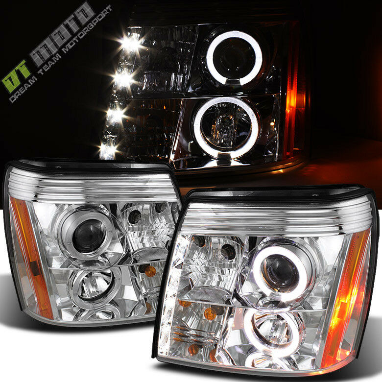 2003-2006 Cadillac Escalade DRL LED Projector Halo