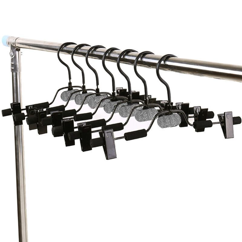 10pcs extra wide metal clothes pants skirts hangers for What to do with extra clothes hangers