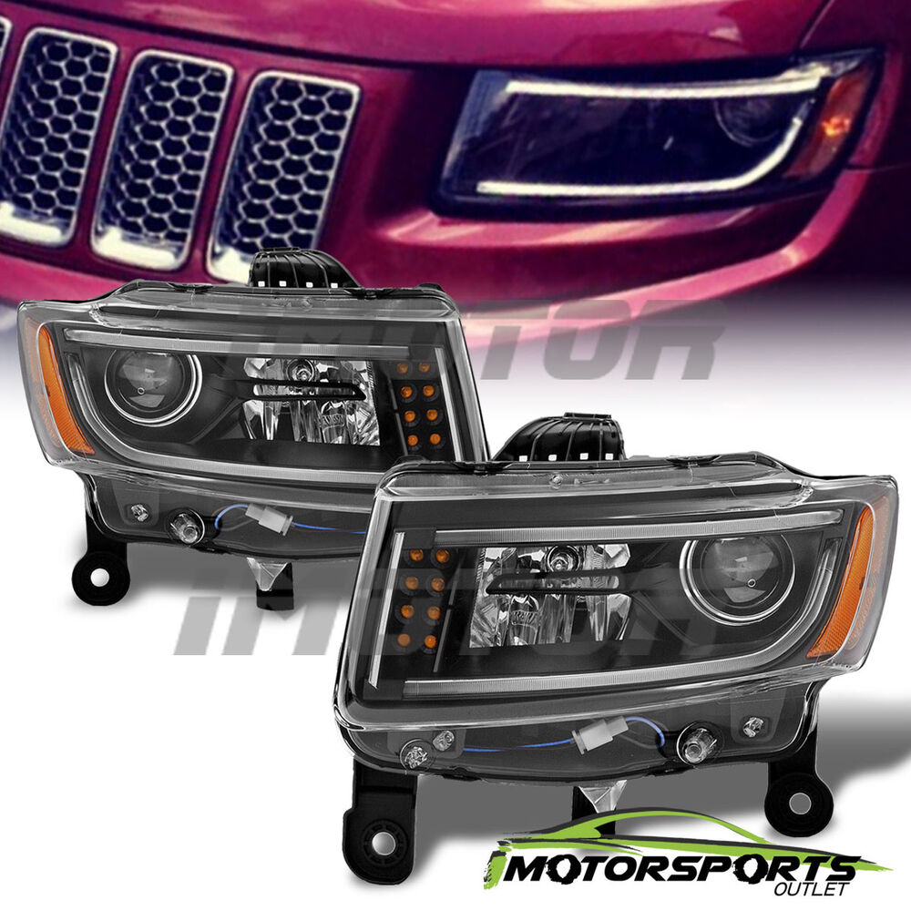 Led bar 2014 2015 2016 jeep grand cherokee led projector - 2015 jeep grand cherokee led interior lights ...