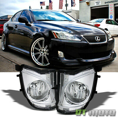 For 2006-2010 Lexus IS250 IS350 Bumper Fog Lights Lamp Left+Right 06 07 08 09 10