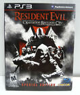 RESIDENT EVIL OPERATION RACCOON CITY SPECIAL COLLECTOR'S EDITION - PS3 - NEW