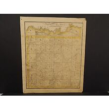Illinois Cass County Map  Township 1874  !J14#75