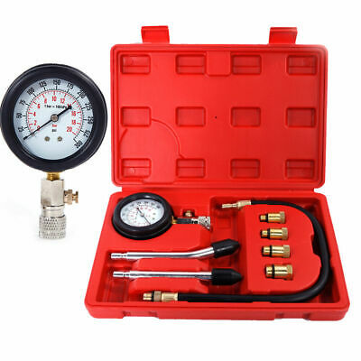 Petrol Hand Gas Engine Cylinder Compression Tester Engine Cylinders Diagnostic