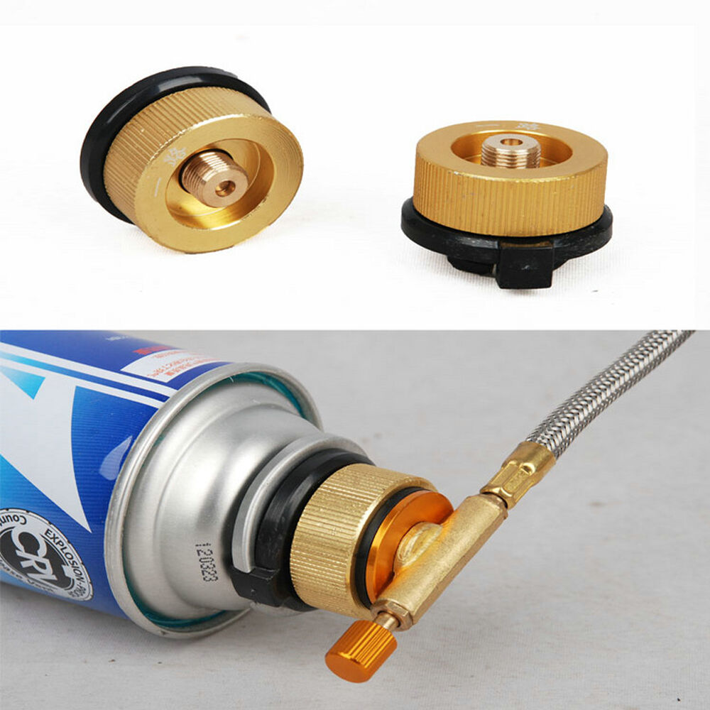 Camping Tank Gas Refill Adapter Filling Butane Canister Cylinder
