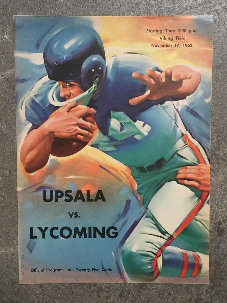 LYCOMING COLLEGE @ UPSALA COLLEGE COLLEGE FOOTBALL PROGRAM ...