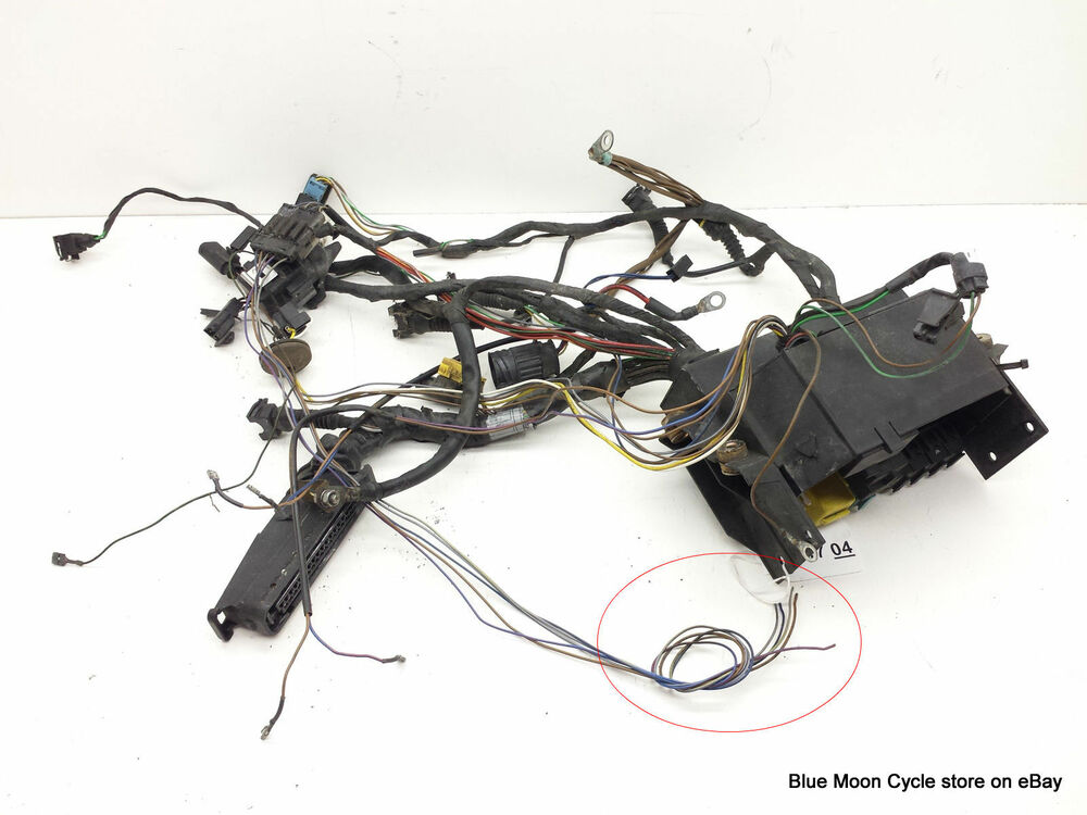 Bmw Motorcycle Fuse Box : Bmw wiring harness complete with fuse box for r c