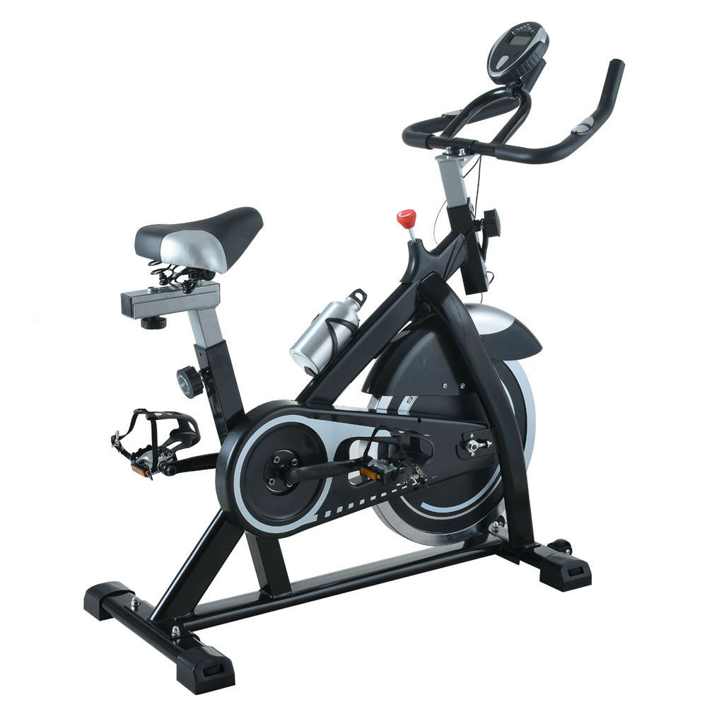Exercise Bike Home Cycling Workout Trainer Cardio Fitness