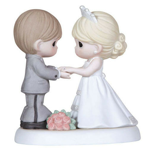 precious moment wedding cake topper new precious moments figurine wedding statue cake 18717