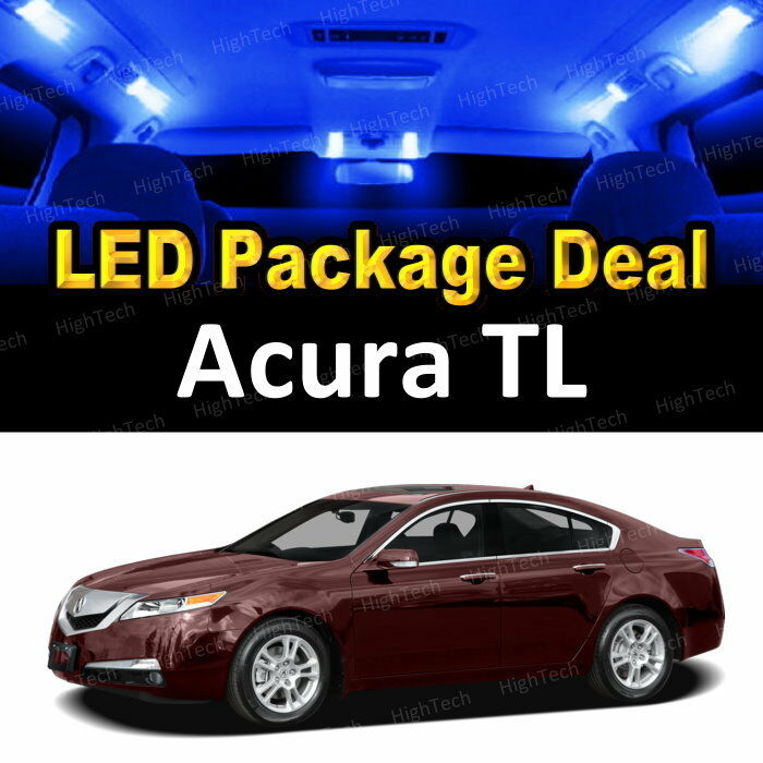 8x Blue LED Lights Interior Package Deal For 1999 2000