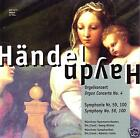 GEORG FRIEDRICH HAENDEL Concert d'orgue, Symph.No.59,100 CD