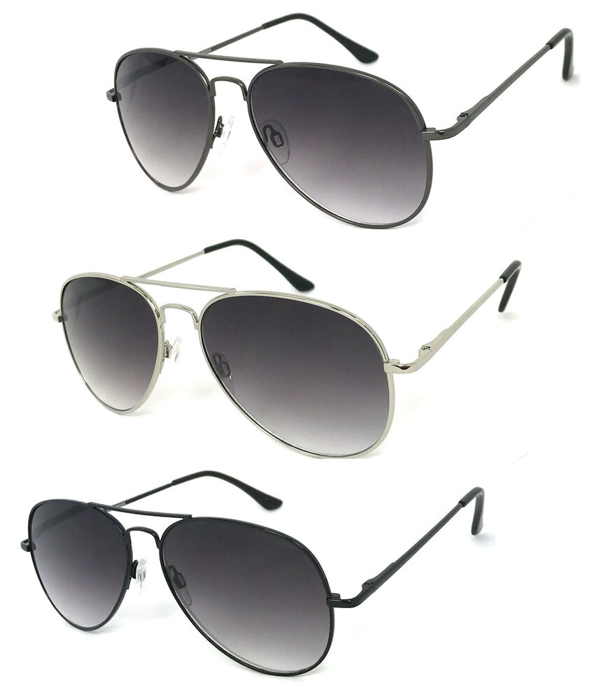 Details about Retro Aviator Full Lens Magnified Tinted Sun Readers Reading  Sunglasses UV400 b04793f85d