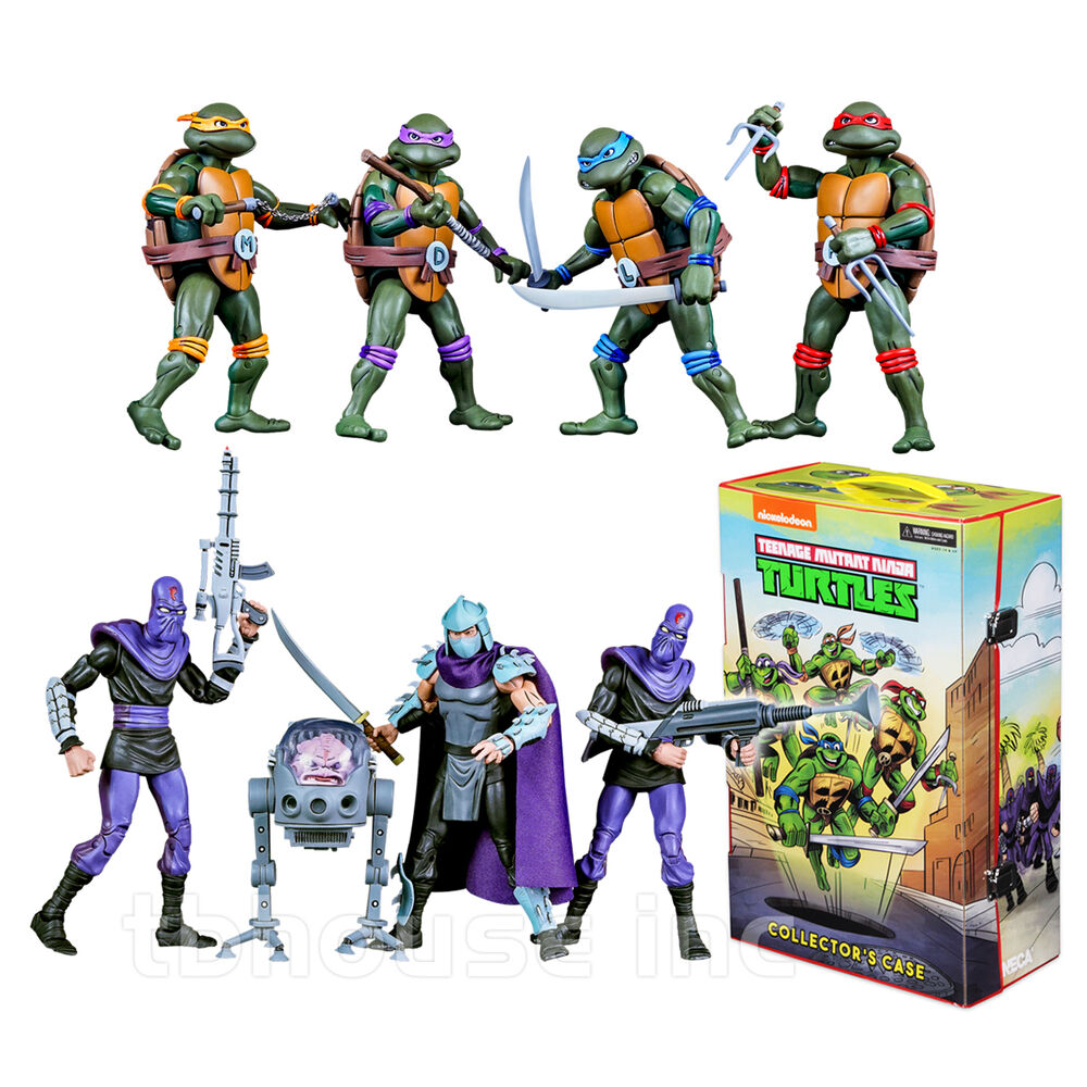 Teenage Mutant Ninja Turtles 2012 Neuralizer Toy : Teenage mutant ninja turtle box set cartoon figure tmnt